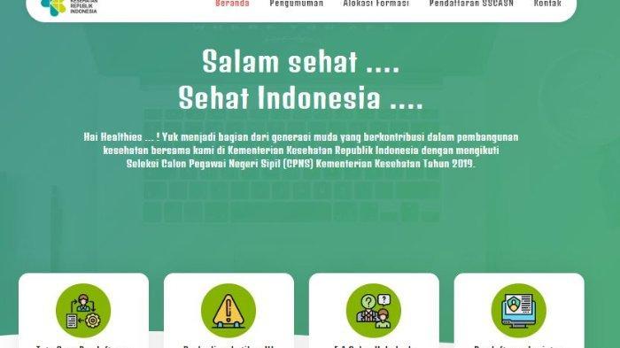 Update Penerimaan CPNS Kemenkes 2019, 27.164 Peserta Lolos Tahap Seleksi Administrasi