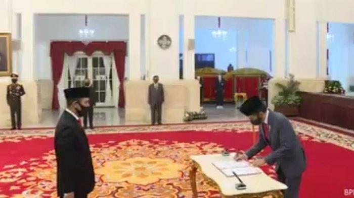 Boy Rafli Amar Resmi Dilantik Jadi Kepala BNPT