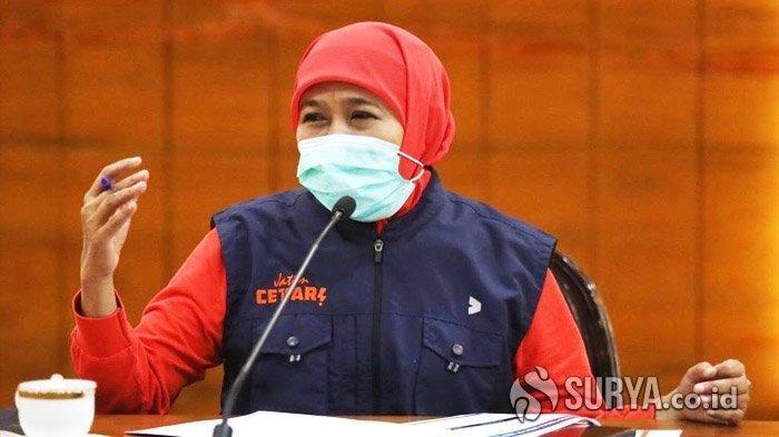 FAKTA Khofifah Bakal Ajukan PSBB di Surabaya: Sebaran Kasus Corona Meningkat, Ada Rekomendasi PERSI