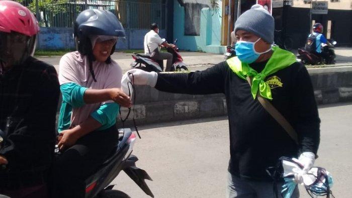 Gerakan 10.000 Masker Paguyuban Smanco 91 & Rekan Ikut Serta Tanggulangi Covid-19 di Comal