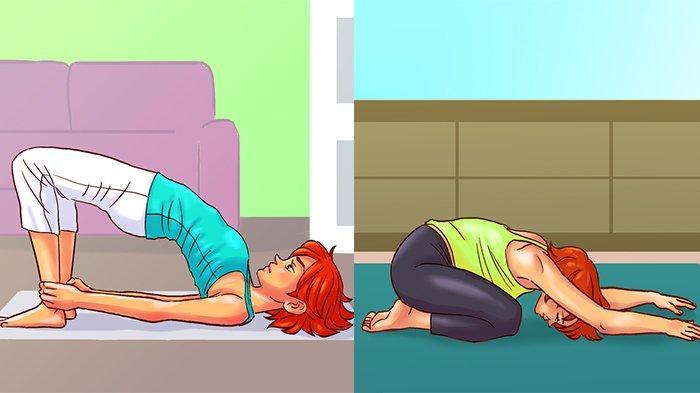 10 Gerakan Yoga Sederhana Ini Baik buat Kesehatan Wanita