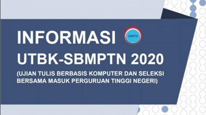 Berikut Penjelasannya Dilaksanakan pada Kondisi New Normal Kebijakan Baru UTBK-SBMPTN 2020