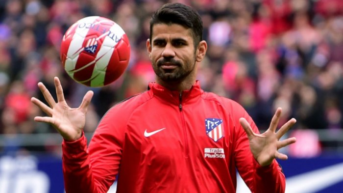 Diego Costa Starter Athletic Bilbao vs Atletico Madrid di Bein Sports 1 Live Streaming TV Online