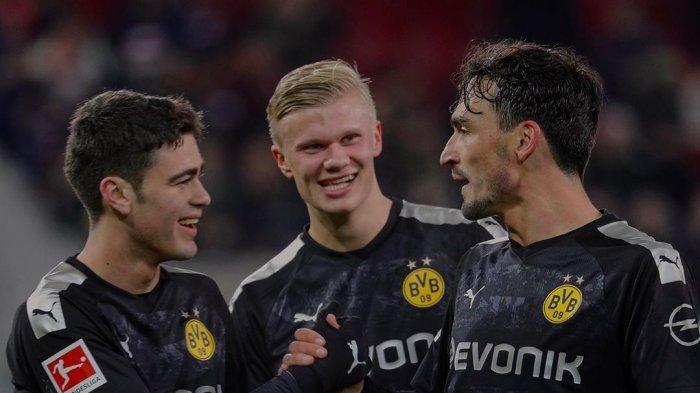 Haaland Diragukan Hummels Absen Borussia Dortmund vs Hertha Berlin Prediksi Bundesliga