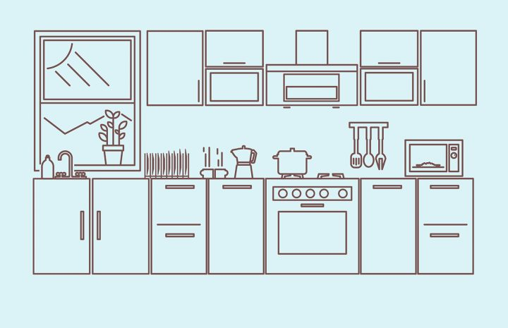 Rekomendasi Furniterus.com untuk Model Kitchen Set Minimalis dan Kitchen Island